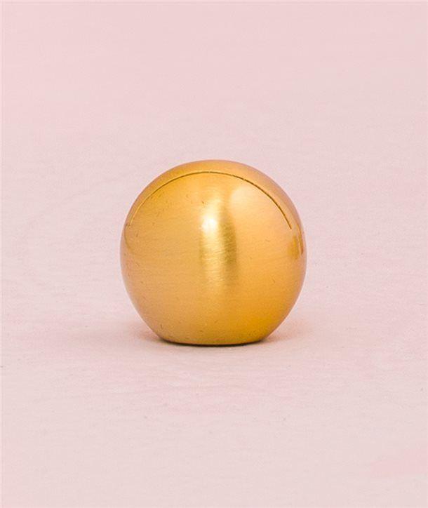 Soporte Tarjetas -Esfera dorada