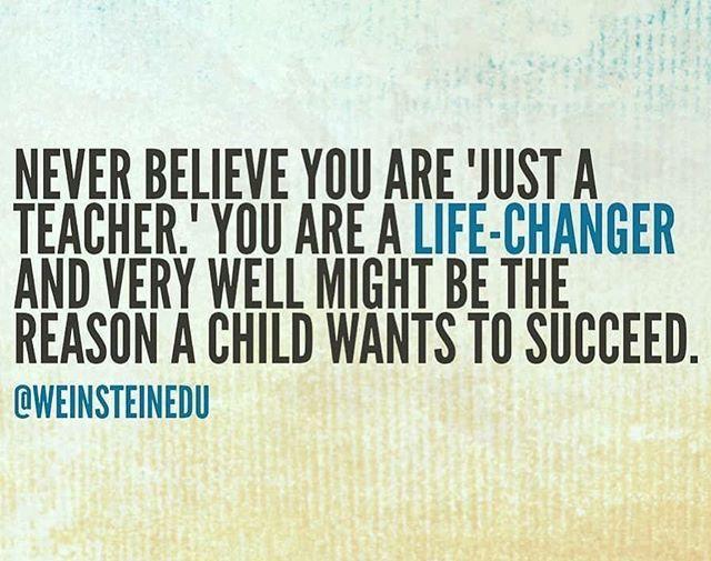 I'm a life-changer what do you do? (via @teachergoals)
