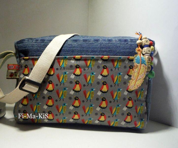 Kindergartentasche Vögel von Fi-Ma-KiS auf DaWanda.com
