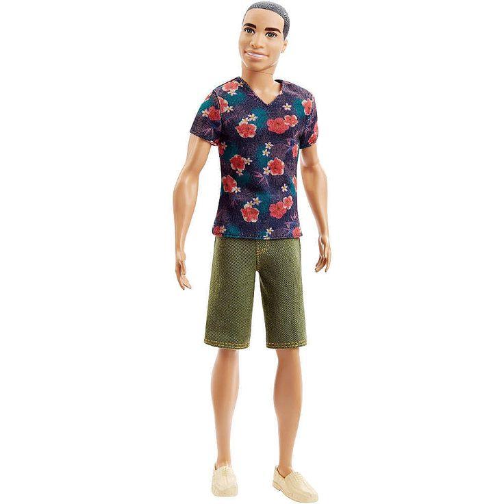 Barbie - Muñeco Ken Fashionista, un muñeco de Ryan inspirado en las series de Barbie. ¡Ken y Ryan van a la última moda y saben posar como nadie!