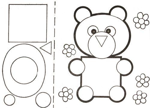 Аппликации из геометрических фигур «Животные»