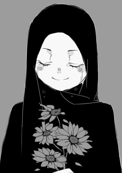 """Be like the flower by Nina (TikTokXII, Malaysia) {digital, 2015} """"""""Be like the flower that gives its fragrance to even the hand that crushes it."""" -Imam Ali-"""""""