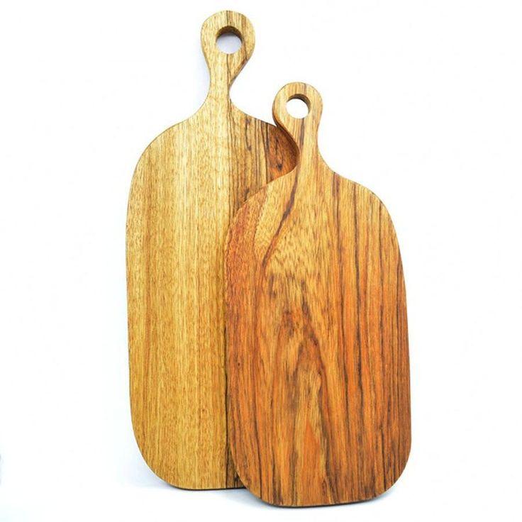 Solid Wood, Scandinavian-Style Cutting Board