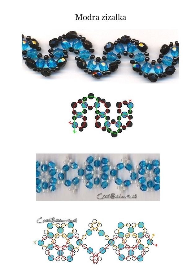 Free Patterns for Bracelet featured on Bead-Patterns.com Newsletter. Lots of Free Beading patterns and tutorials are available!