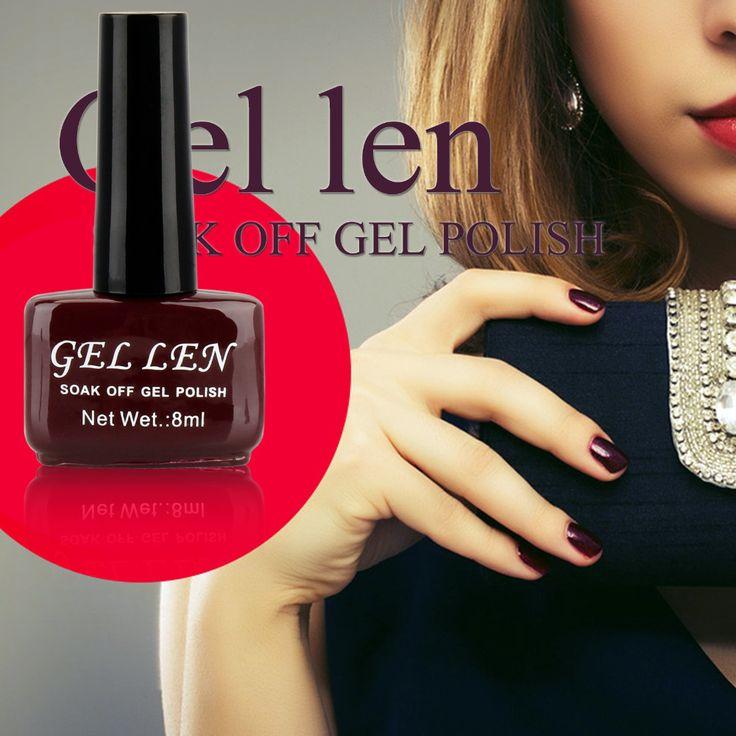 Гель Лен Коричневый Кофе Шоколад Нейтральный УФ-лак для ногтей выдерживает с геля сид лак для ногтей длительное 8 мл дешевые лак для ногтей