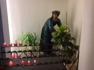 "St Pölten, Austria - the ""whipped Saviour"" in the Franciscan Church"