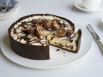 Ferrero Rocher Cheesecake recept