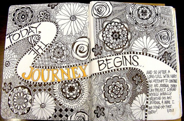 The Journey Begins --- again by Pinay New Yorker, via Flickr - so many beautiful ideas!