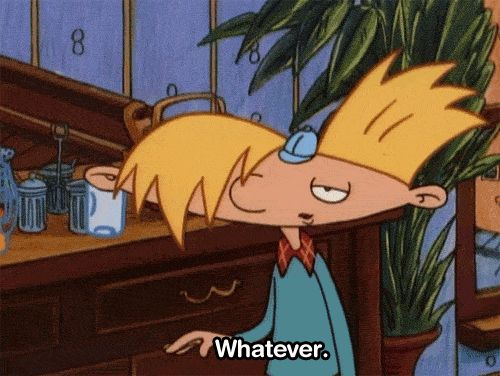 "And then you realize that you don't need this stupid heartbreak anyway. | Community Post: 20 ""Hey Arnold!"" Quotes That You Need In Your Life"