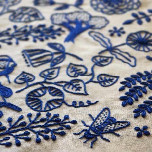 beautiful embroidery by yumiko higuchi