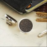 #new #gift - #Brown Embroidery Look Lapel Pin