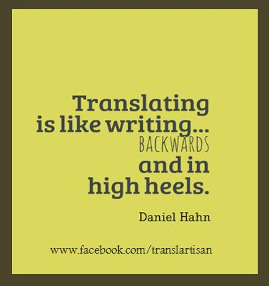 The curious condition of being a translator by Daniel Hahn  http://www.societyofauthors.org/sites/default/files/Being%20a%20translator.pdf