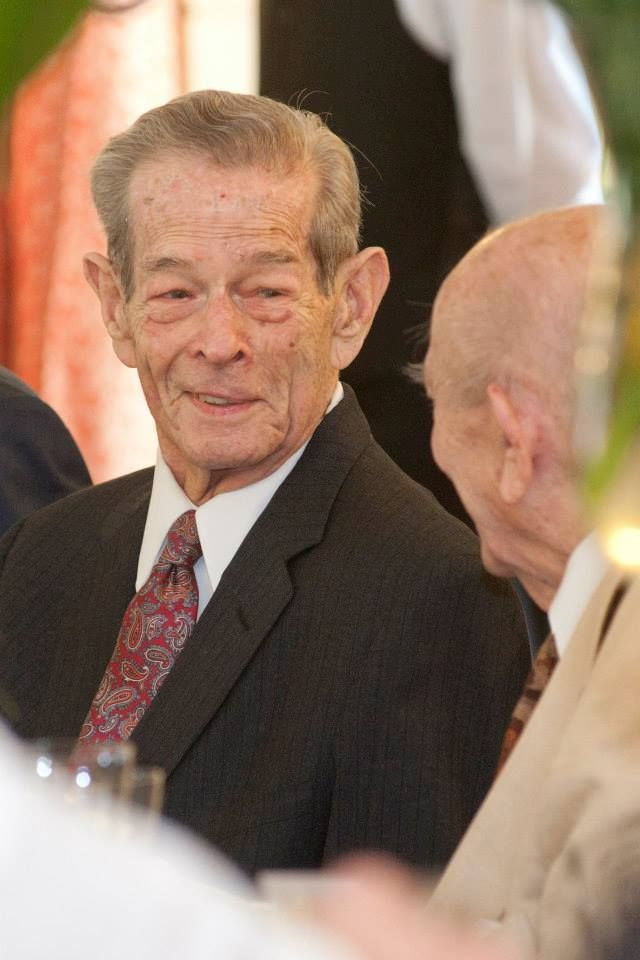 King Michael of Romania and his classmate, Lascăr Zamfirescu - 05.11.2013 (during the festive lunch that celebrates his 92nd birthday and name day)
