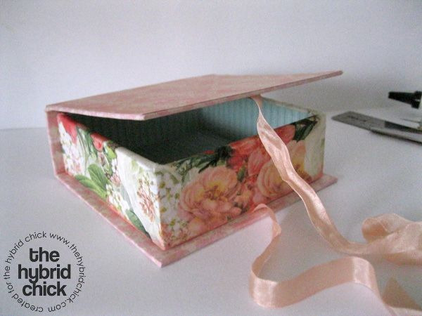 Foam board Keepsake box « The Hybrid Chick