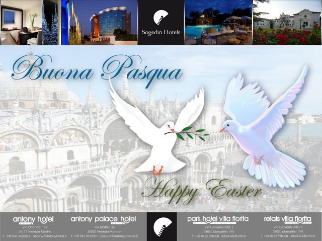 Happy Easter to everyone! Buona Pasqua a tutti!