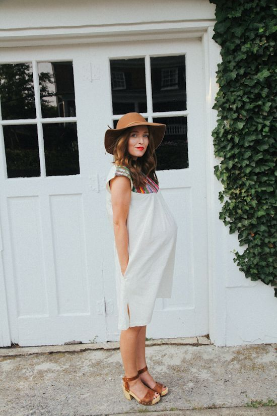 that maternity boho summer look is so awesome!