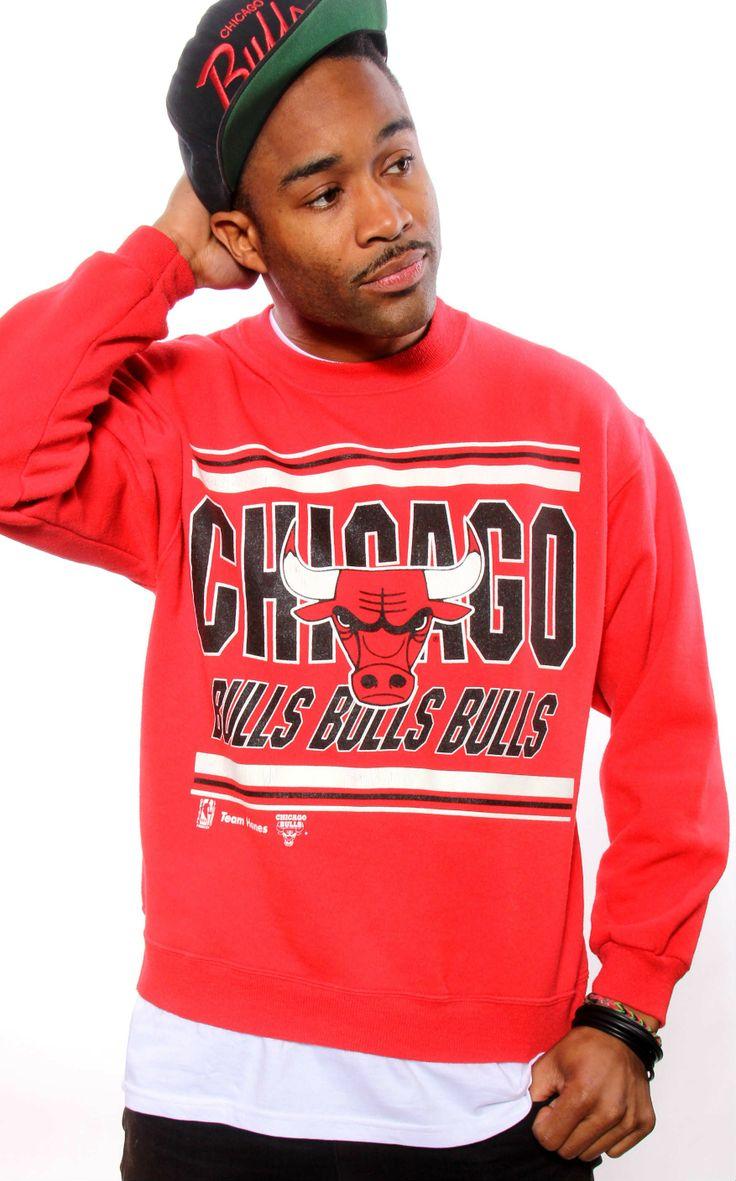 VINTAGE 90S CHICAGO BULLS HANES SWEATSHIRT Hanes