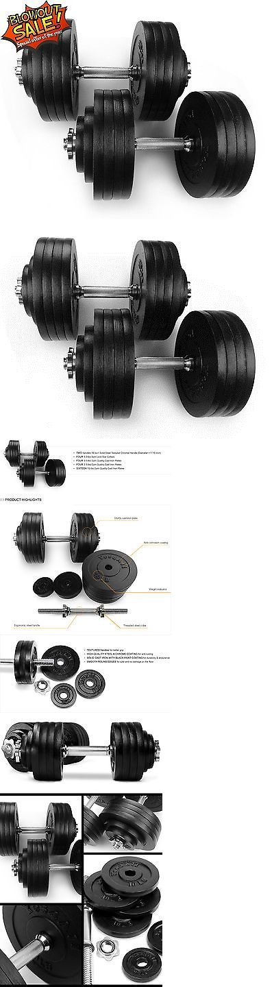 Dumbbells 137865: Yes4all Adjustable Dumbbell Set Weight Cap Fitness Gym - 200Lbs - ²Zzcec BUY IT NOW ONLY: $198.99