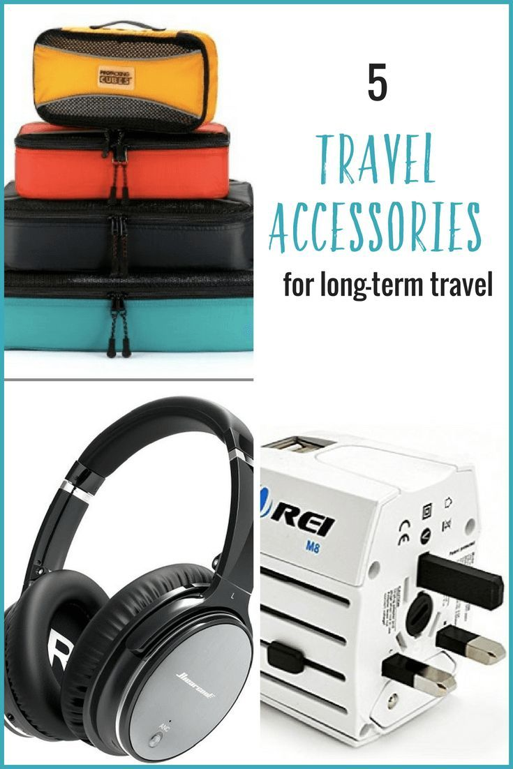 c22758b76b Planning a trip  Here are 5 handy travel accessories that will improve your  long-term travel experience