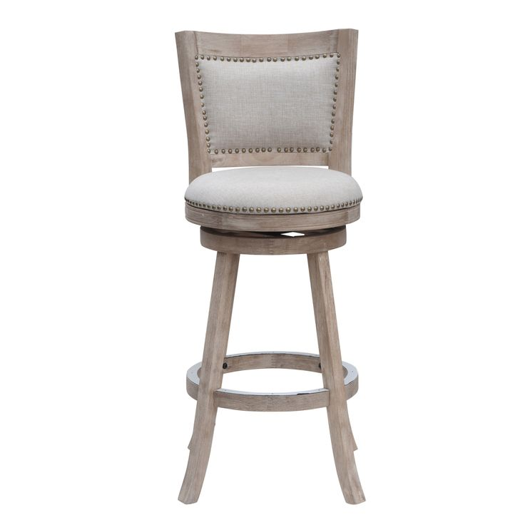 Melrose 29-inch Swivel Bar Stool (Cream/Ivory) Grey (Rubberwood)  sc 1 st  Pinterest : best swivel bar stools - islam-shia.org