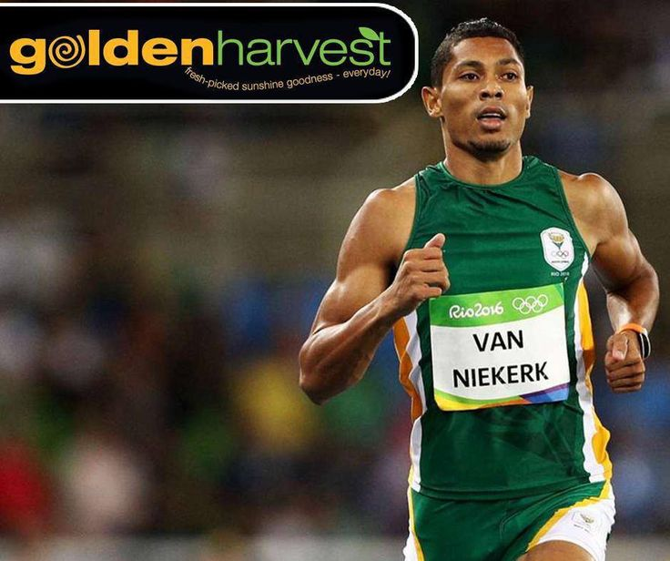 Congratulations to Wayde van Niekerk who smashed the 400m world record in a time of 43.03. #Rio2016 #ProudlySouthAfrican #GoldenHarvest #Rio2016