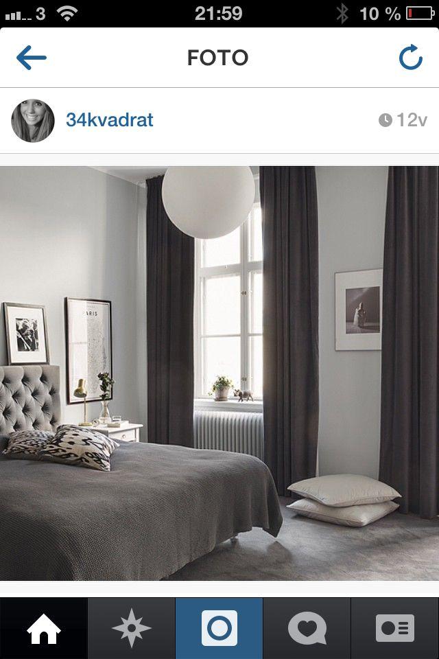 Sovrum grått