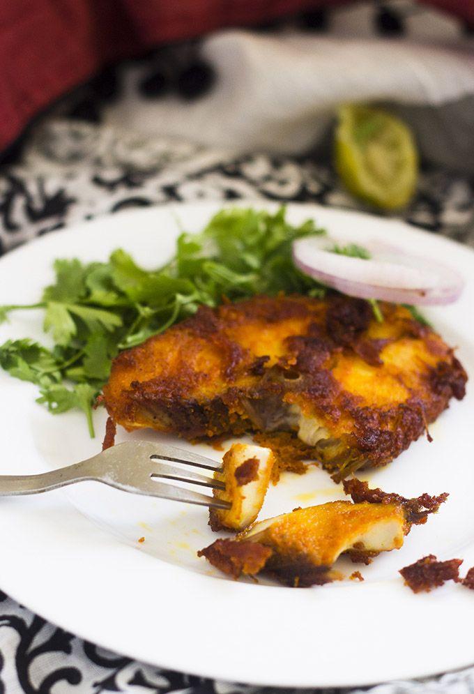 Vanjaram fish fry surmai fish fry king fish fry recipe for King fish recipe