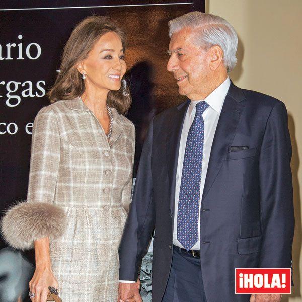 En ¡HOLA!, doble celebración para Isabel Preysler y Mario Vargas Llosa