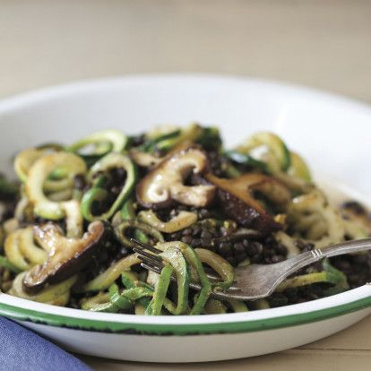 Zucchini Noodles with Pistachio Pesto and Black Lentils and 2 other Anti-Inflammatory Recipes