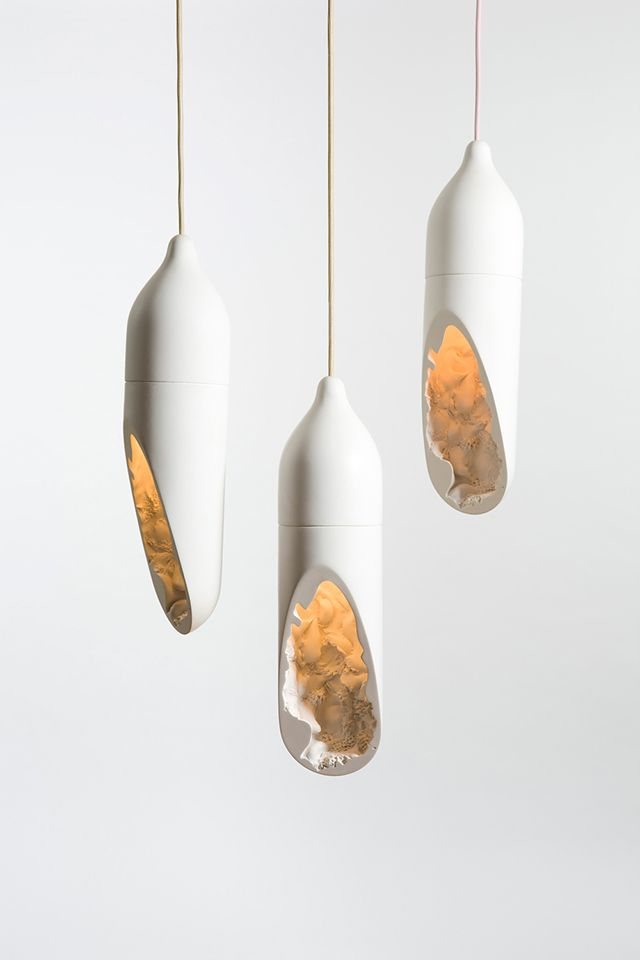 Seltanica Lamp Hanging Light Fixture by Cmmwlth design studio - Inspiration für eine Umsetzung in Beton