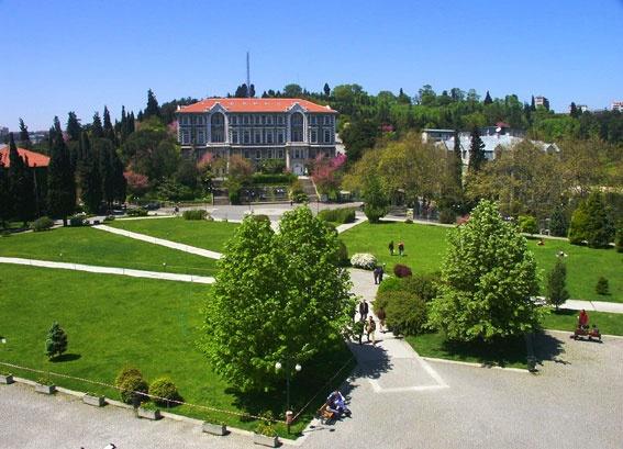 """what I consider """"home""""  bogazici university"""