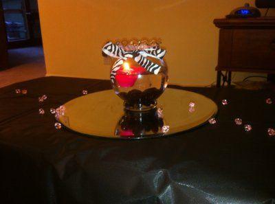 Best 25 zebra centerpieces ideas on pinterest diy zebra for Do it yourself centerpieces for birthday