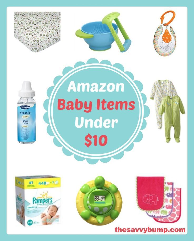 On a budget or looking for affordable baby shower gifts? These highly rated and useful baby items are all under $10 on Amazon!  how to afford a baby #baby #babies