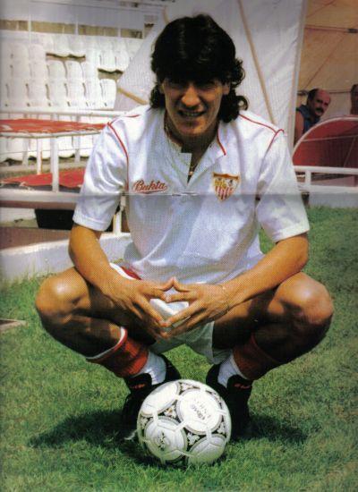 Ivan Zamorano. Sevilla. 1991.