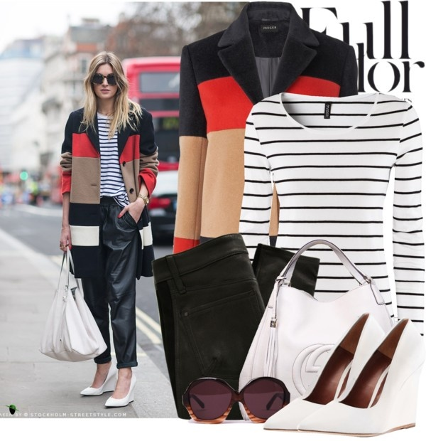 """""""Camille's Street Chic"""" by modestyfashions ❤ liked on Polyvore"""