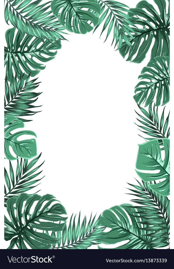 Pin On Tropical Jungle The best selection of royalty free tropical leaves border vector art, graphics and stock illustrations. pin on tropical jungle