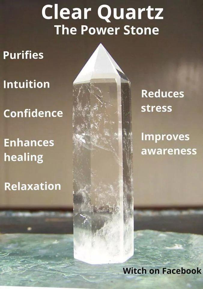 Clear Quartz - The Power Stone