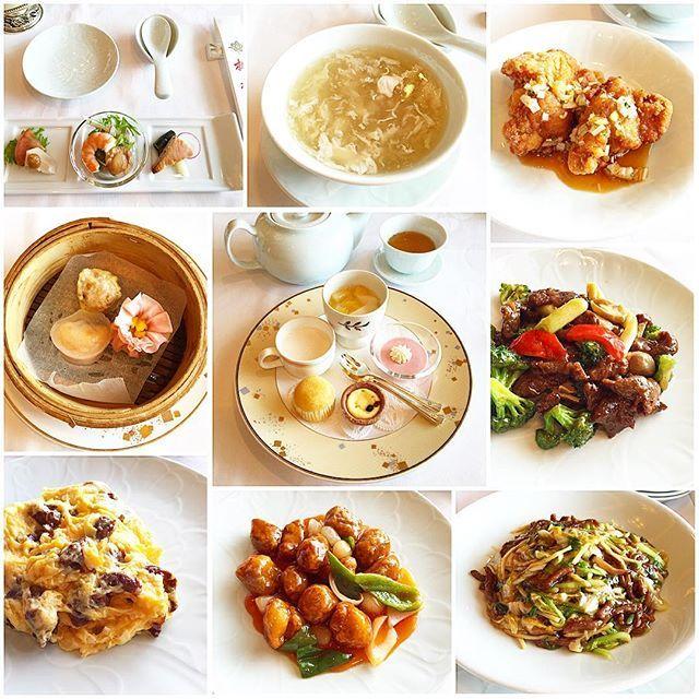 3日目のランチ。  義父母と家族みんなでホテルオークラ神戸の中華料理桃花林さんへ。  久しぶりの桃花林さんでの中華♫ 前菜からデザートまでとてもボリュームのあるコースで、もうこれ以上食べきれない…というくらい美味しい中華を堪能してきました。 お腹いっぱいと言いつつ、やっぱりデザートは別腹。笑 *冷菜盛り合わせ *白きくらげ入りふかひれスープ *鶏肉の唐揚げ 特製ソース添え *三種飲茶盛り合わせ 9品よりメイン三品選ぶ *牛肉と季節野菜の炒め *牛肉と卵の炒め *酢豚 *牛肉細切り焼きそば *デザート盛り合わせ  #ホテルオークラ #ホテルオークラ神戸 #神戸 #中華料理 #桃花林 #ランチ #lunch #hotelokura #hotelokurakobe #kobe