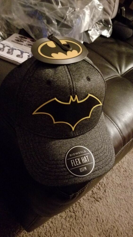 b91ce3bdb Batman Fitted Hat Cap All BLACK/YELLOW DC COMICS LID #fashion #clothing  #shoes #accessories #mensaccessories #hats (ebay link)