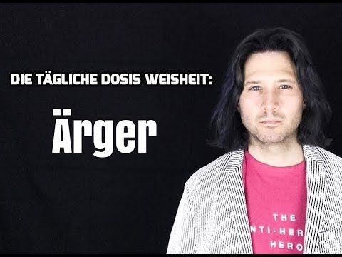 Mit #Ärger klüger umgehen: https://youtu.be/TcepEQyPOG4