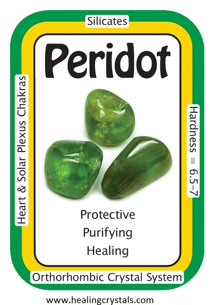 "Peridot, ""It is safe for me to detoxify and heal.""  Peridot is a known healing crystal that sends it's energies to the Heart Chakra, bringing positive energy and encouraging mental, emotional, and spiritual growth. Crystal healers love Peridot for it's ability to awaken one to Universal Love.  Code HCPIN10 = 10% discount  www.healingcrystals.com/advanced_search_result.php?dropdown=Search+Products...&keywords=peridot"