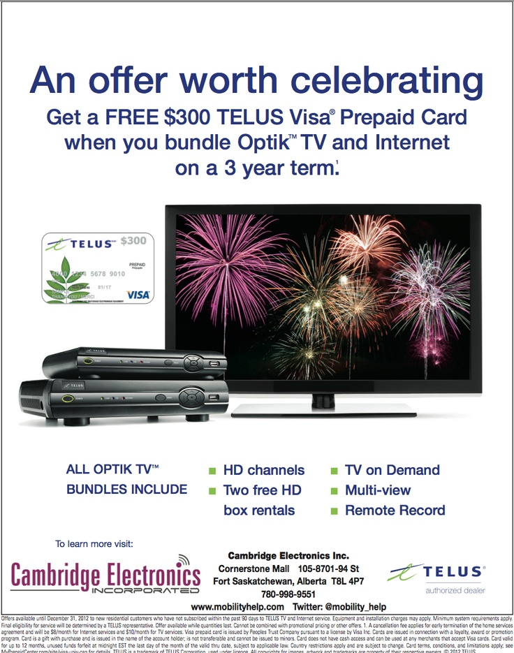 Great opportunity!  Grab it while its here at Telus Cornerstone Mall