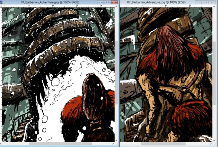 #Pulp #Barbarian #Monkey #StatueofLiberty #Comics #Coloring #MakeArt #MakingComics