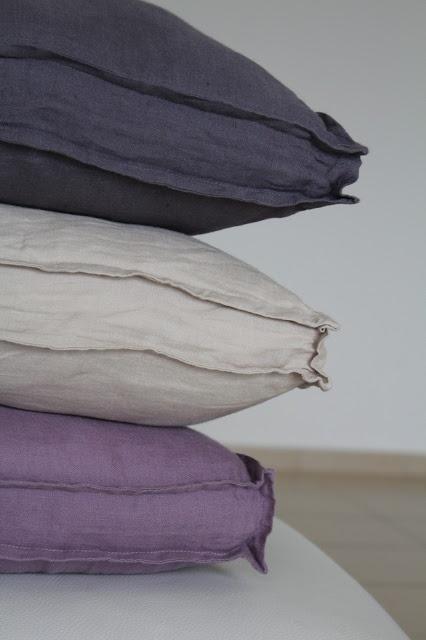 colours on white sofa