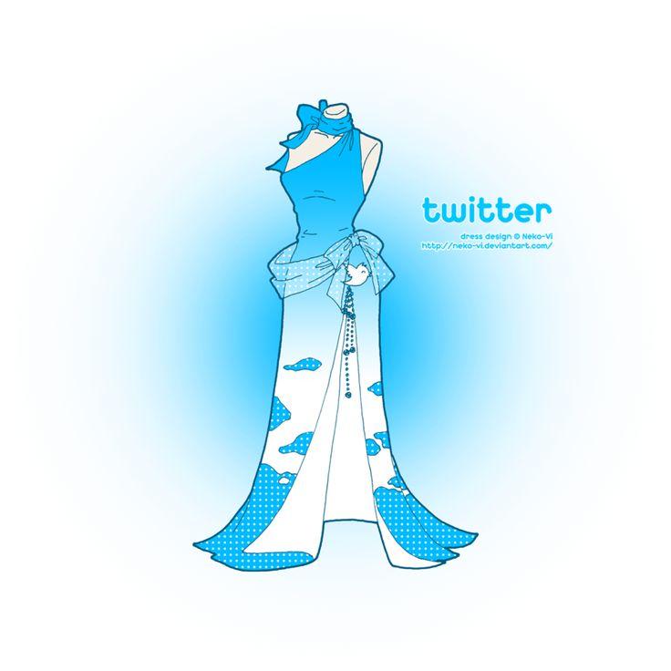 Twitter in Fashion by *Neko-Vi on deviantART