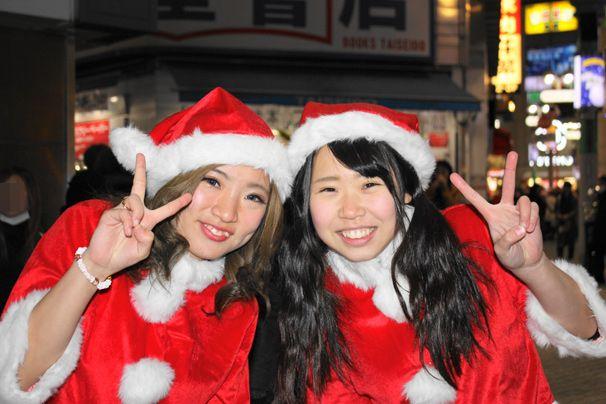 渋谷のサンタのコスプレ写真24