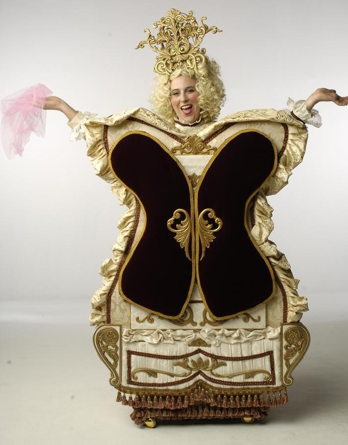 beauty and the beast broadway costumes | Bureau costume from Beauty and the Beast, the wardrobe costume, beauty ...