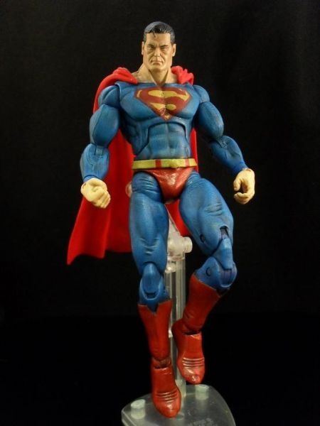 Superman V2 (DC Universe) Custom Action Figure