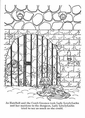 23 best crafty 80 39 s lady lovely locks coloring images on for Lady lovely locks coloring pages