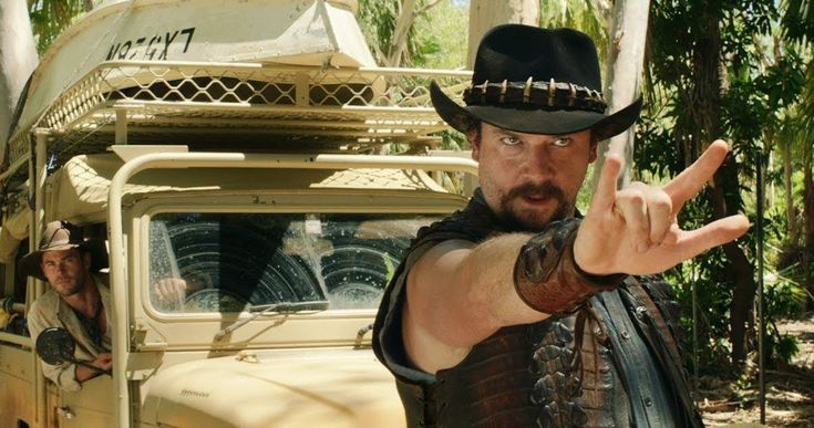 First Dundee Clip Has Danny McBride Trying to Tame a Buffalo -- The first clip from fake sequel Dundee has arrived before the full Super Bowl commercial debuts two Sundays from now. -- http://movieweb.com/dundee-super-bowl-commercial-video-clip-danny-mcbride/